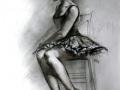 Ballerina on Chair